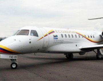 El avión de Lenín Moreno debió realizar un aterrizaje de emergencia.
