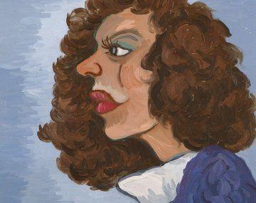 la marta. Uno de los primeros y expresivos retratos de Belloni.