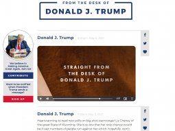 El expresidente Donald Trump mantiene su pasión por las redes sociales a través de su propia plataforma.