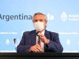 El presidente Alberto Fernández aclaró a qué se refirió cuando hizo mención a un relajamiento del sistema sanitario.