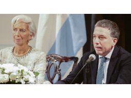 Apoyo. Lagarde y Dujovne anunciaron el acuerdo e inmediatamente el Tesoro de EE.UU. emitió un comunicado respaldándolo.