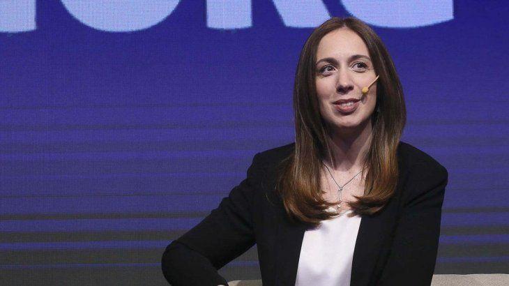 En un acto a puertas cerradas, Vidal oficializa su candidatura a diputada por la CABA