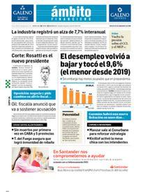 Tapa Edicion Impresa del 2021-09-24