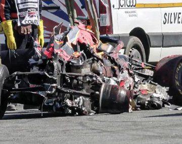 Red Bull confirmó que el auto de Verstappen no sirve más tras el choque que le provocó Hamilton