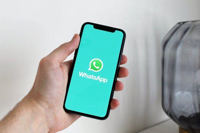 Aplicación de mensajería instantánea WhatsApp.