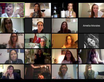 Cerca de 50 mujeres se reunieron virtualmente en el ciclo Reina de Copas.
