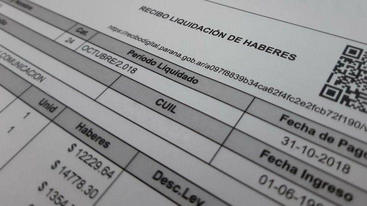 Los recibos de sueldo podrán emitirse en formato digital