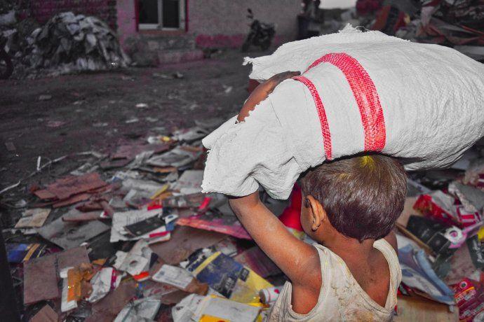 El 54,3% de los niños en la Argentina son pobres