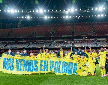 Histórico. Villarreal, con tres argentinos en su plantel, jugará, en la Europa League, su primera final internacional de la historia.