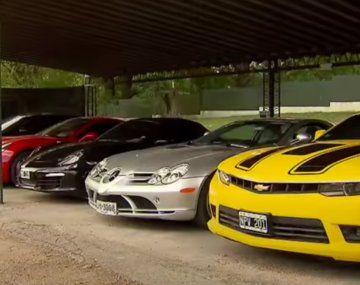Se rematan en Uruguay autos de Marcelo Balcedo.
