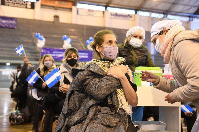 Argentina lideró ranking mundial de vacunación la última semana